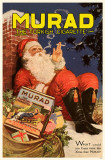 Murad Santa Smoking Masterprint