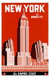 New York, die Wunderstadt, Englisch Masterdruck