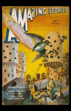 May 1932 -Amazing Stories -Robots vs Birds Masterprint