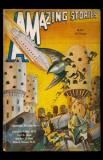 May 1932 -Amazing Stories -Robots vs Birds Masterprint