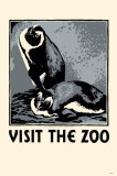 Visit the Zoo Masterprint