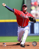 Derek Lowe 2011 Action Photo