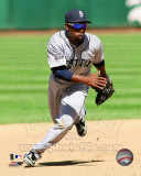 Chone Figgins 2011 Action Photo