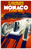 2nd Grand Prix Monaco Masterprint