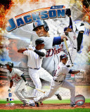 Austin Jackson 2011 Portrait Plus Photo
