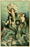 Mermaids Masterprint