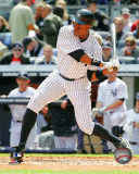 Curtis Granderson 2011 Action Photo