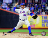 R.A. Dickey 2011 Action Photo