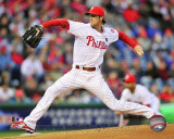 Cole Hamels 2011 Action Photo