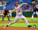 Dan Haren 2011 Action Photo