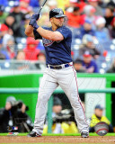 Dan Uggla 2011 Action Photo