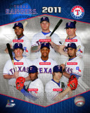 2011 Texas Rangers Team Composite Foto