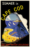 Summer in Cape Cod Masterprint