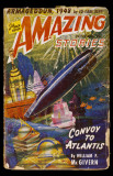 November 1941 -Amazing Stories -Convoy to Atlantis Masterprint
