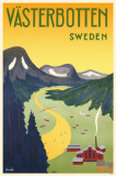 Vasterbotten Sweden Masterprint