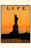 Life Lady Liberty Masterprint
