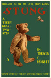 Stung A Teddy Bear Two Step Masterprint