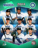 2011 Seattle Mariners Team Composite Photo
