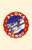 Aloha Hawaii Masterprint