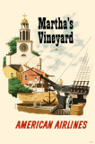 Marthas Vineyard American Airlines Masterprint