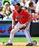Chipper Jones 2011 Action Photo