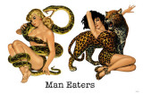 Man Eaters Masterprint