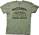 Hangover II - Stu & Lauren T-shirts
