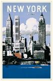 New York Aer Lingus Masterprint