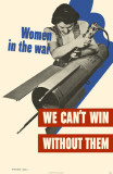 Women in the War Masterprint