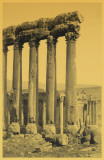 The Great Pillars and Smaller Temple Baalbec Masterprint