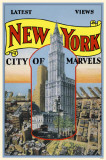 New York City of Marvels Masterprint