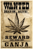 Wanted Ganja Masterprint