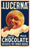 Lucerna Swiss Milk Chocolate Masterprint