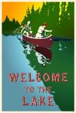 Bienvenido al lago Lámina maestra