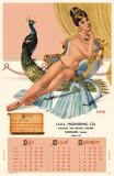 Delilah Calendar Masterprint