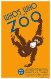 Who's Who in the Zoo Masterprint