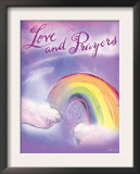 Love and Prayers Posters by Flavia Weedn