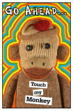 Touch My Monkey Masterprint