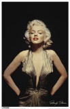 Marilyn Monroe Gold Dress Masterprint