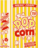 Delicious Nutritious Popcorn Masterprint