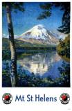 Mt St Helens Masterprint