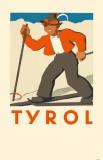 Tyrol Skier Masterprint