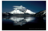 Mt St Helens Reflection Masterprint