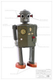 Atomic Robot Man Masterprint