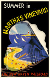 Summer in Marthas Vineyard Masterprint