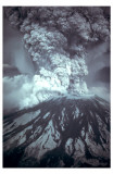 Mt St Helens Eruption Masterprint