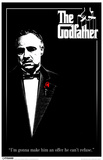 Godfather Black and White Photo