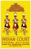 Indian Court Federal Building Masterprint