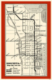 Subway Route No 1 Masterprint