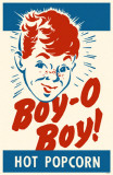 Boy O Boy Popcorn Box Masterprint